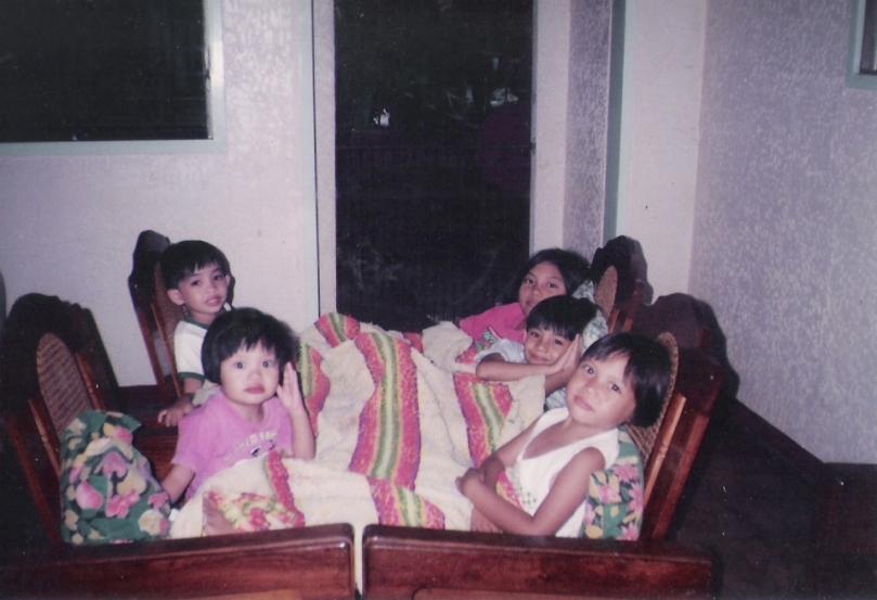 when they were still small ...