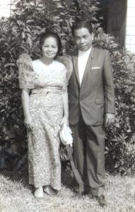 My grandparents Lolo Filemon and Lola Epang