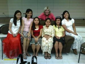 CDO Stake Young Women with Sister Elaine Dalton, Young Women General President ♥