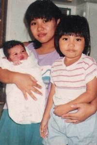 Momi, Myco, and Ella ♥