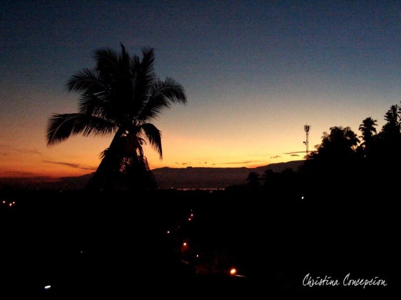 Sunrise in Cagayan de Oro