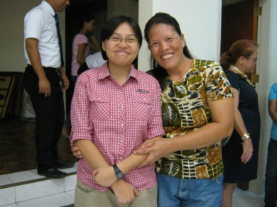 with Sister Judith Go
